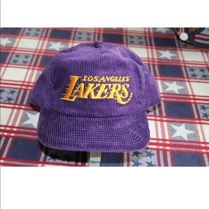 Lakers Single Line Vintage ZIP Back